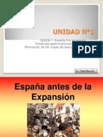 7.- España pre Expansión