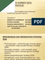 Managemen Sumber Daya Manusia Stratejik
