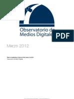 Reporte Marzo 2012