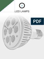 2- led lamps