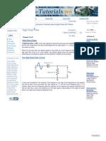 Analog HP Filter