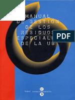 Manual Residus Especials Cs