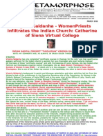 Virginia Saldanha-womenpriests Infiltrates the Indian Church-catherine of Siena Virtual College