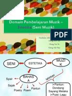 Matlamat Dan Fungsi Muzik Dalam Pendidikan-6 Domain Pembelajaran Muzik (Estetika )
