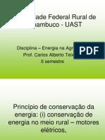 Aula 11 - Conservação de energia - motores