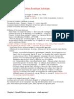 Critique Historique - Copie