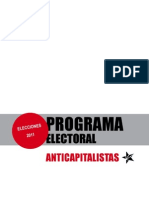 Programa Electoral Anti Capitalist As