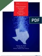 Texas Business Attitudes Toward Federal Health Care Reform
