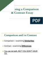 Comparison & Contrast