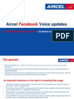 Facebook Voice- Aircel