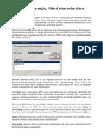 DNS Aging ve Scavenging (Güncel olmayan kayıtların silinmesi)
