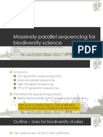 Massively parallel sequencing for Biodiversity
