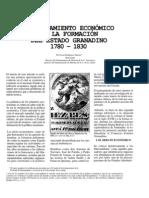 El to Economico en La Formacion Del Estado Granadino 1780 1830-1