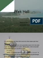 Maesarah Efek Hall