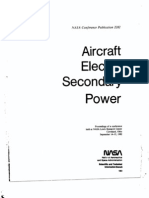 Aircraft Electric Secondary Power