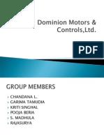 Dominion Motors Case