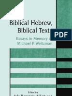 _Rapoport-Albert&Greenberg_Biblical Hebrew, Biblical Texts -
