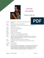 Chat spécial Eva LEONARD - 9 octobre 2011
