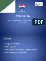 BSAD 570 PepsiCo Inc Stock Presentation 5.3.11