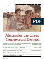 Alexander the Great Conqueror and Demigod