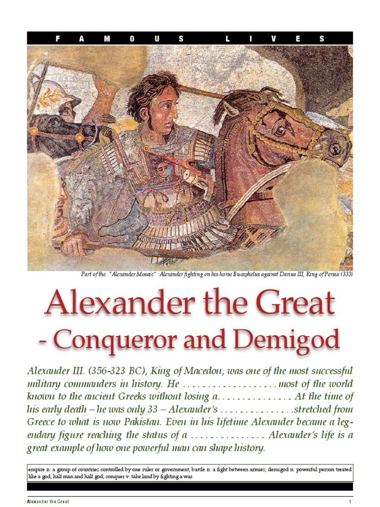 alexander the great webquest
