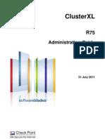 CP R75 ClusterXL Admin Guide