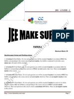 JMS-4 PAPER -2 SOLUTIONS