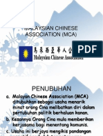 Perihal Malaysian Chinese Association (Mca)