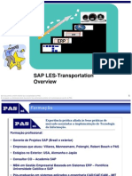 SAP Overview - LES Transportation