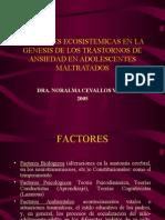 Factores Ecosistémicos de Trast. de Ansiedad