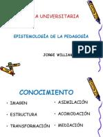 Epistemología de la Pedagogía2