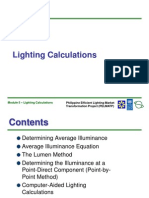 Module 5 Lighting Calculations