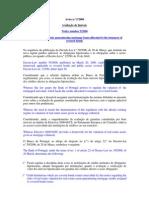 AVISO nº 5-2006 Banco Portugal_Outubro2006