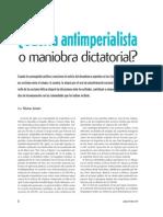 Jensen, Silvina - El exilio argentino y Malvinas - Revista Puentes