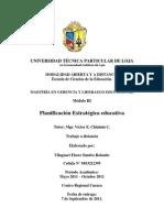 planificación estratégica Educativa_2011