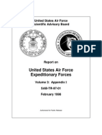 Report on United States Air Force Expeditionary Forces Volume 3