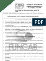 M37 V - Técnico Administrativo Educacional - Agente Administrativo