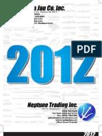 2012 Wuu Jau / Neptune Trading Catalog