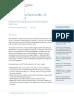 'Arizona v. United States' in the U.S. Supreme Court