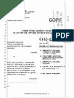 Kendrec McDade Lawsuit