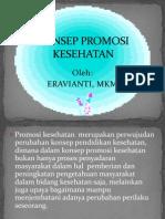 Konsep Promosi Kesehatan Kep