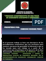 EXPOSICION HIDRAULICA publicacion presa de gravedad