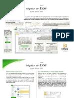 Migration Vers Excel
