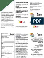 Scheda Iscrizione e Volantino Corso Sperpero Di Risorse e Ragioni Della Decrescita