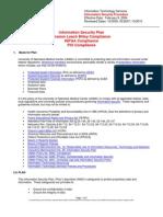 UNMCInformationSecurityPlan-Sept2010