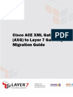 Cisco ACE XML Gateway Migration Guide
