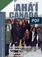 Bahai Canada April 2012