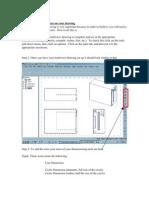 Making Dimensions in Pro Desktop