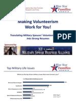 Making Volunteerism Work for You