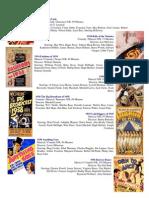Cine - Musicales 1930s